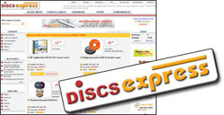 Discsexpressblank discs, blank media, cdr, dvd-r, dvd+r, dvd ram, dual layer, lightscribe, disks, dics, discs, free delivery, fast shipping, cases, dvd wholesale